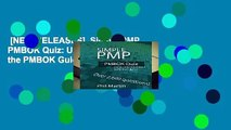 [NEW RELEASES]  Simple PMP PMBOK Quiz: Updated for the PMBOK Guide Sixth Edition