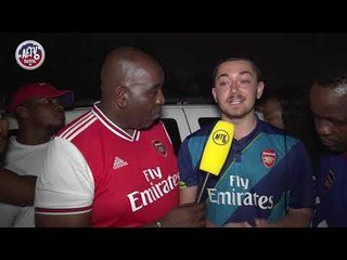 arsenal 2 3 pens real madrid fan praises arsenal for how they have treated american fans