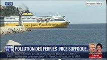 À Nice, les ferries empoisonnent le quotidien des habitants du port