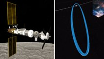Future Gateway space station will be in a halo orbit around the moon