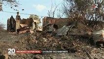 Portugal: La colère des habitants dans les régions dévastés par des incendies qui sont restés incontrôlables pendant plusieurs heures