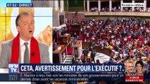 L'édito de Christophe Barbier: Ceta, avertissement pour l'exécutif ?