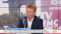 """Démission de François de Rugy: selon Adrien Quatennens, le problème était """"son inconséquence écologique"""""""