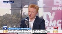 """Démission de François de Rugy: """"je n'ai pas de raison objective de remettre en cause le rapport rendu par le personnel de l'Assemblée"""" explique Adrien Quatennens (LFI)"""