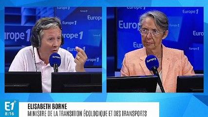 Elisabeth Borne - Europe 1 mercredi 24 juillet 2019