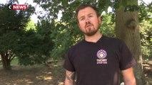 Canicule : les soigneurs aux petits soins avec les animaux du zoo de Thoiry