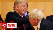 Trump sees kindred spirit in Boris Johnson
