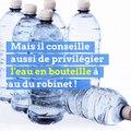 Canicule : le maire de Guéret conseille de boire de l'eau en bouteille !