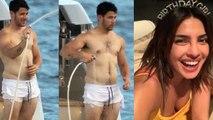Priyanka Chopra's husband Nick Jonas goes shirtless, photo goes viral | FilmiBeat