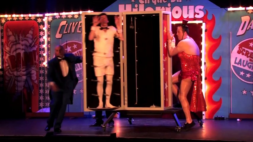 The MAD Tricks Danny Adams Attempts At The Cirque du Hilarious!