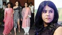Kangana Ranaut's Judgementall Hai Kya screening not attended by Ekta Kapoor & Rajkummar   FilmiBeat