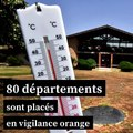 Canicule : 80 départements placés en vigilance orange, un record
