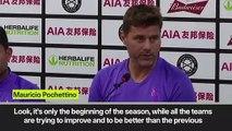'Hopefully we can win more this season' Pochettino