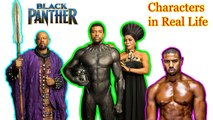 Black Panther Characters in Real Life ★ Superheros Real Name And Age 2018