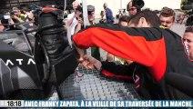 Vidéo : notre reportage avec l'homme-volant Franky Zapata, à la veille de sa traversée de la Manche