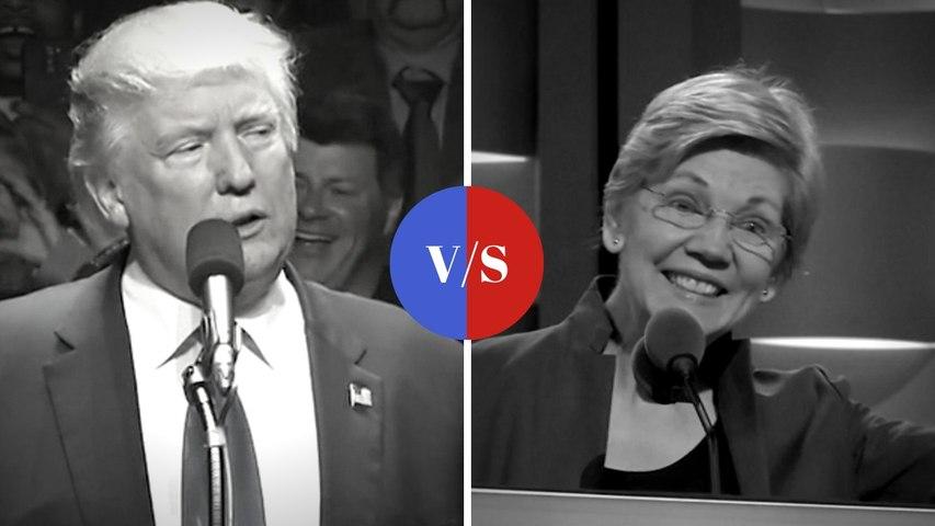Elizabeth Warren vs Donald Trump: A blow-by-blow account of a turbulent history