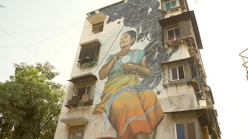 Street Art in India: Through the art of Miles Toland
