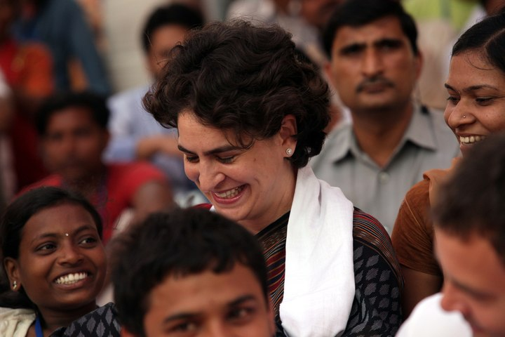Priyanka Gandhi takes a political Plunge, appointed Congress in-charge of UP East