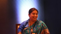 Will retire the day PM Modi leaves politics: Smriti Irani at Words Count festival