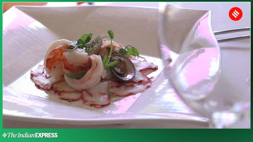 Seafood and Crustaceans Salad Recipe by Chef Agostino D'Angelo