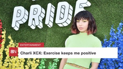 Charli XCX Advocates For Fitness