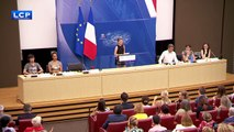 Greta Thunberg's speech  at the French Parliament.(English)