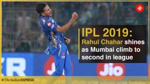 IPL 2019: Rahul Chahar shines as Mumbai climb to second in league