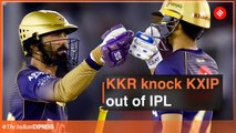 KKR knock KXIP out of IPL