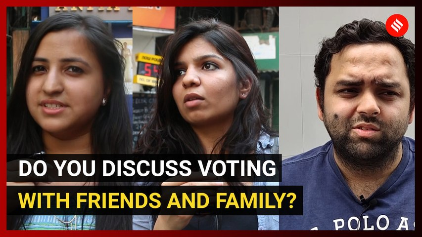 Do you discuss voting with friends/family?