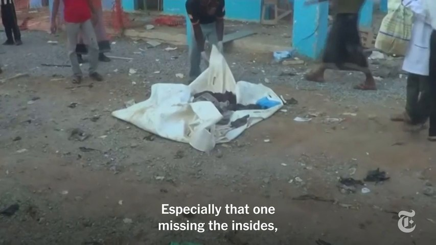 How U.S. Weapons Ended Up Hitting Hospitals in Yemen