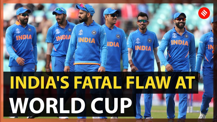 What India got wrong at World Cup