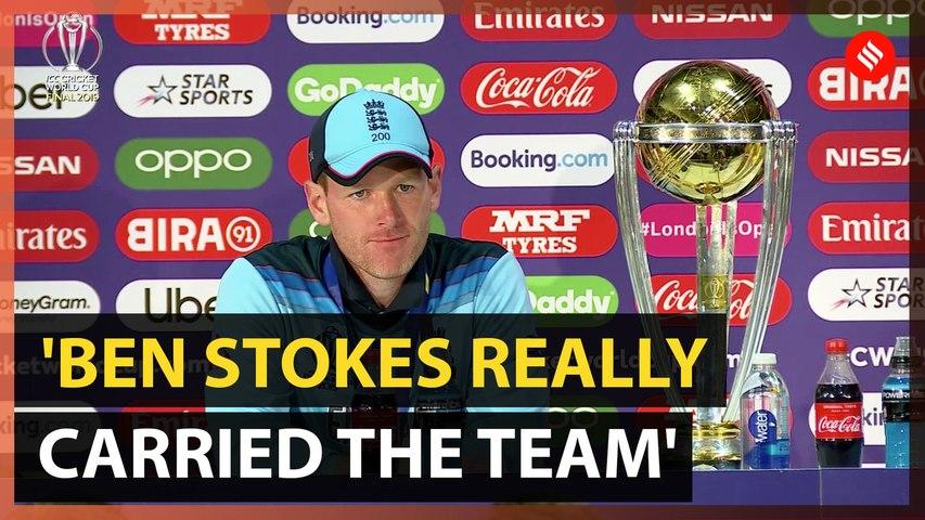 Ben Stokes' performance almost superhuman, says England captain Eoin Morgan