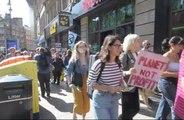 Extinction Rebellion protest.
