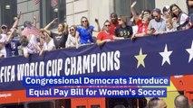Women's Soccer Influences An Important Bill