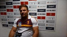 Huddersfield Giants boss Simon Woolford after 18-12 win at Hull KR