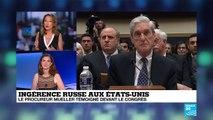 Enquête russe : le procureur Mueller témoigne devant le Congrès américain
