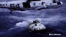 On this day: Apollo 11 astronauts splashdown back to Earth