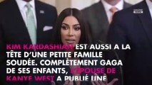 Kim Kardashian maman gaga, elle partage une adorable photo de ses fils