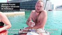 A Marseille, le fléau des trottinettes jetées à la mer