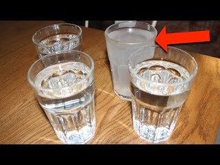 Trinke 4 Wassergläser jeden Morgen! VERRÜCKT WAS PASSIERT!
