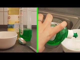 6 total faszinierende Küchen-Experimente. Nr. 5. verändert sogar Wasser!