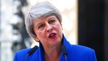 Theresa May makes her last address as UK prime minister