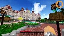 Ils mettent 7 ans à reproduire Disneyland Paris version Minecraft, hallucinant !
