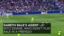 Zidane Has Responded Following The Remarks From Bale's Agent
