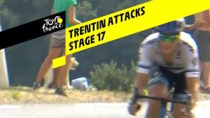 Trentin Attacks - Étape 17 / Stage 17 - Tour de France 2019