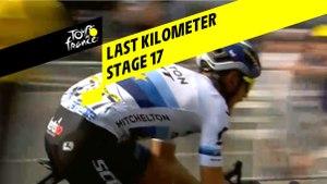 Last kilometer / Flamme rouge - Étape 17 / Stage 17 - Tour de France 2019