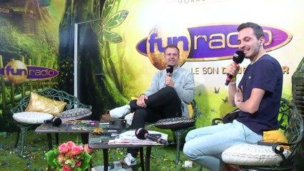 ARMIN VAN BUUREN en interview sur Fun Radio à Tomorrowland 2019