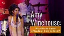 Amy Winehouse a 8 años de haber entrado al Club de los 27