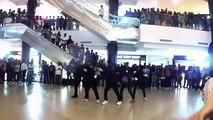 College student flash mob at punjagutta