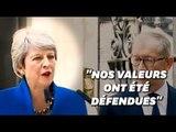 """Theresa May quitte son poste et rappelle la """"priorité absolue"""" du Brexit"""